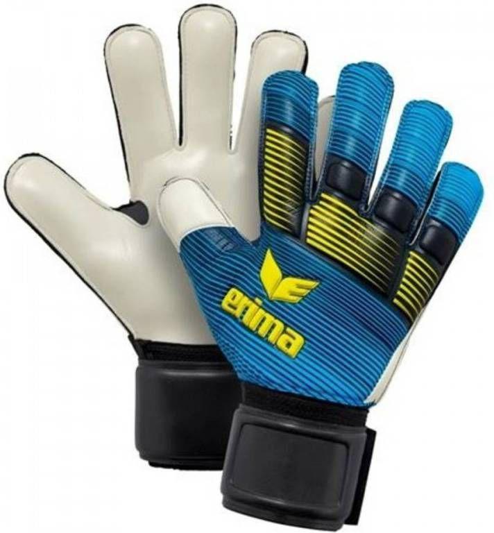Erima keepershandschoenen Skinator Protect blauw maat 7.5 online kopen