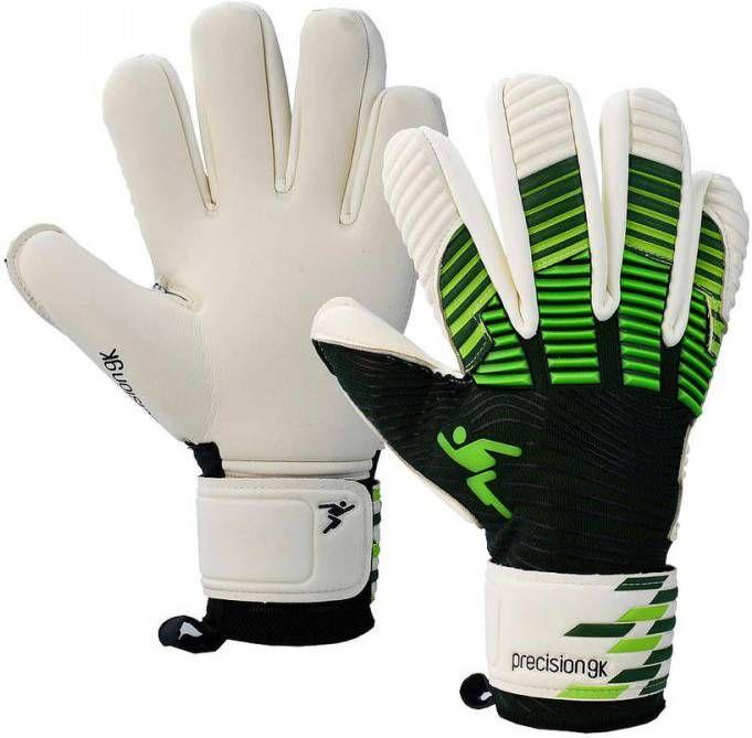 Merkloos Precision Keepershandschoenen Elite Giga Zwart/groen Maat 11 online kopen