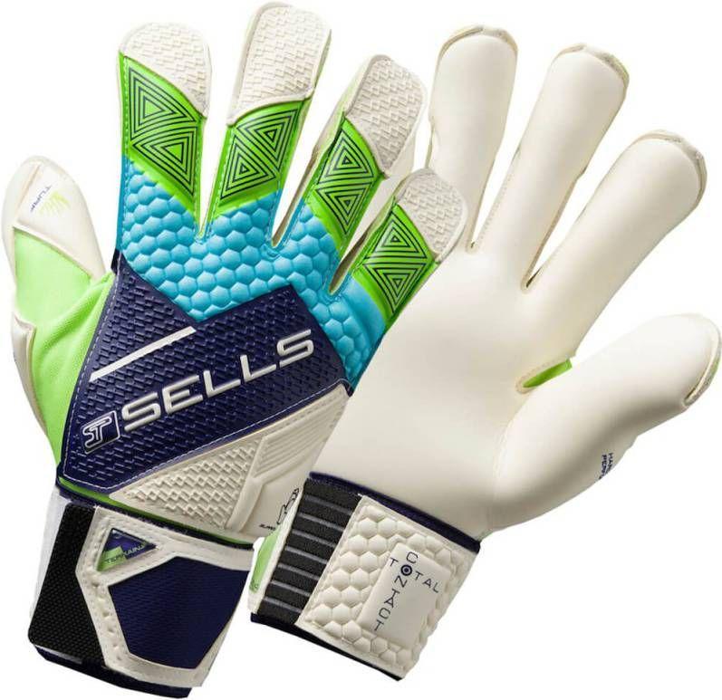 Sells Total Contact Pro Terrain Keepershandschoenen Blue Green online kopen